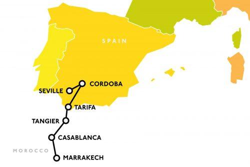 Al-andalus-map